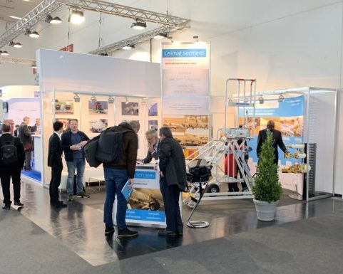 usimat sermees booth at INTERAIRPORT